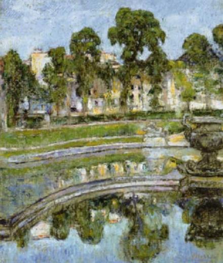 George Morren - Le Basin de Neptune, Versailles