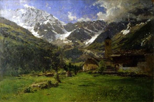 Eugenio Gignous - Monte Rosa, 1896