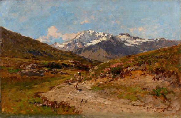 Eugenio Gignous - Paesaggio 2