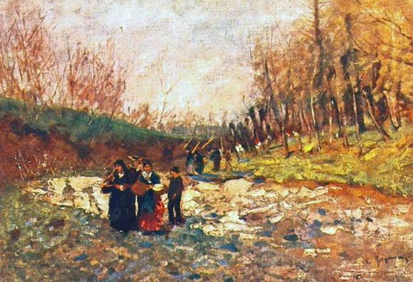 Eugenio Gignous - Paesaggio 3