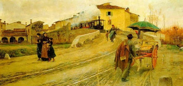 Adolfo Tommasi - Petriolo, presso Firenze
