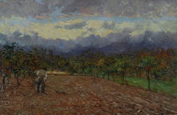 Adolfo Tommasi - Lavoro nei campi