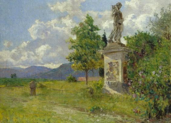 Adolfo Tommasi - Villa Kaugler a borgo a Buggiano