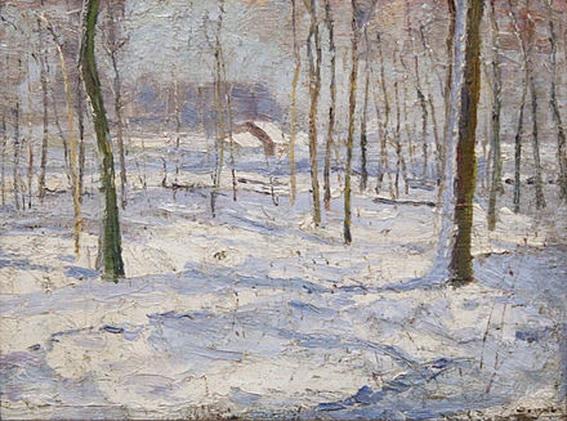 Georges Buysse - Winterlandschap