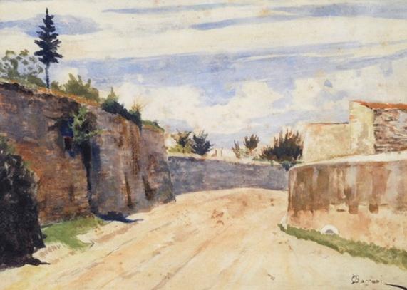 Odoardo Borrani - Via San Leonardo