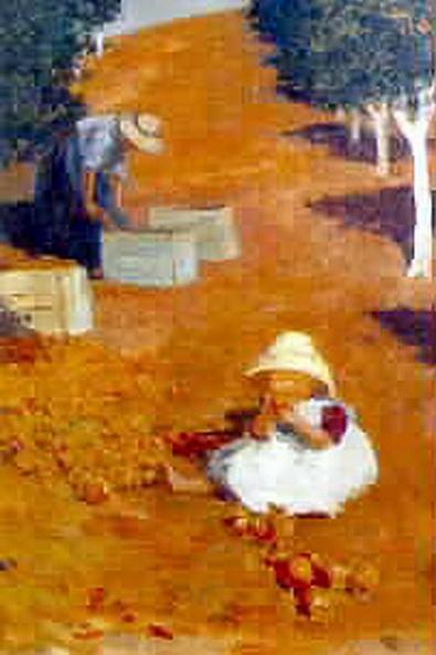 Jessie Constance Alicia Traill - In the Orchard