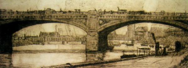 Jessie Constance Alicia Traill - Princes Bridge