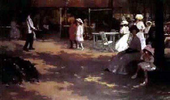 Jessie Constance Alicia Traill - The Tea Gardens