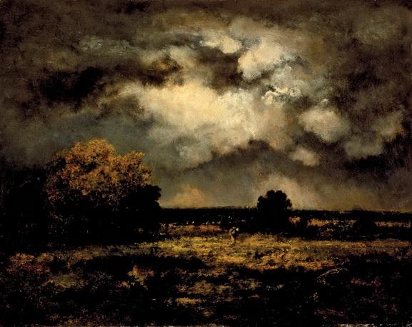 Narcisse  Diaz - Stormy Landscape