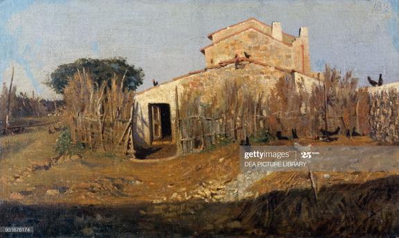 Gioseppe Abbati - The house of Diego Martelli