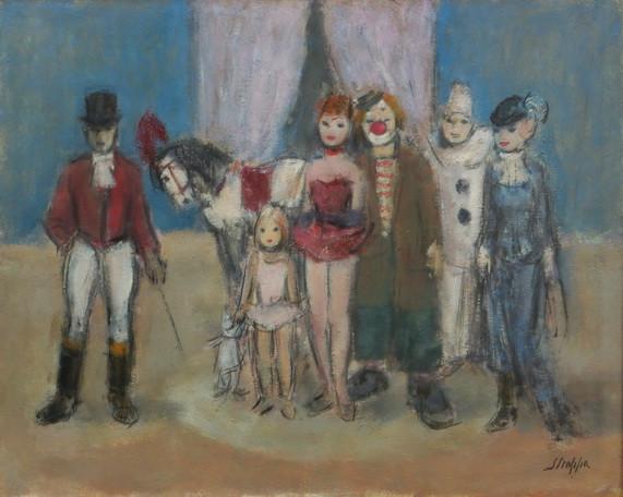 Leonardo Stroppa - Personaggi del circo
