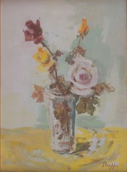 Leonardo Stroppa - Vaso di rose