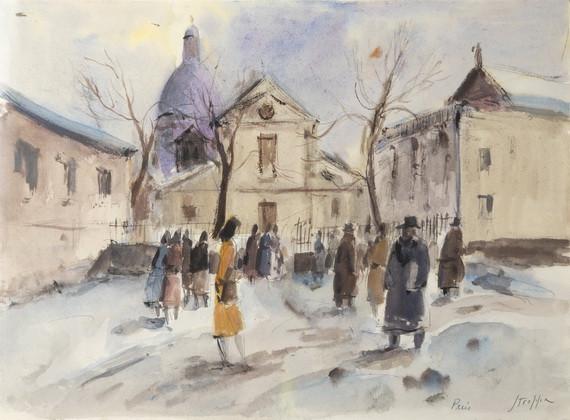 Leonardo Stroppa - Neve a Parigi