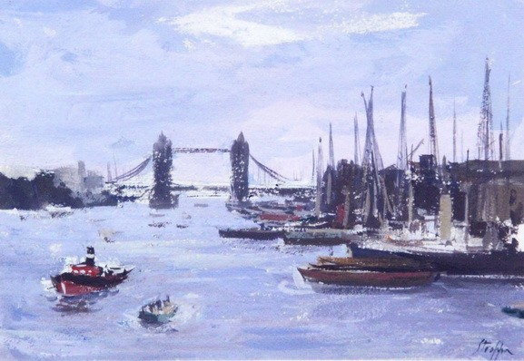 Leonardo Stroppa - Londra - Il Tamigi