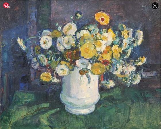 Maurice Wagemans - Vase fleuri