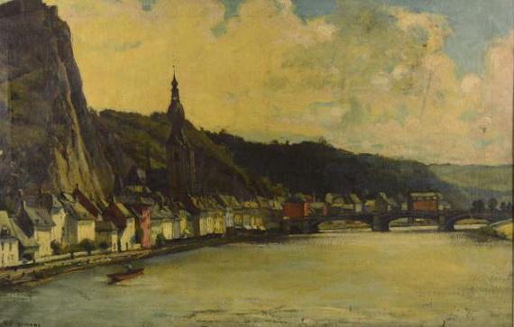 Maurice Wagemans - Vue de Dinant