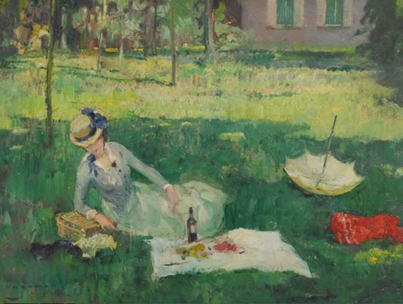 Maurice Wagemans - Le dejeuner sur l herbe