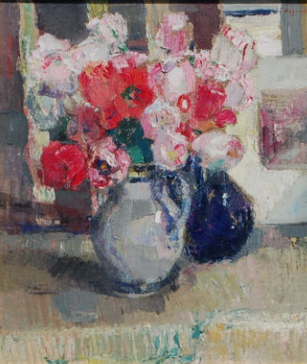 Maurice Wagemans - STILL-LIFE WITH POPPIES
