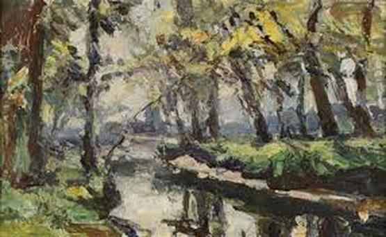 Abbe Cales - La riviere