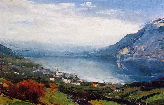 Abbe Cales - La vallee de Gresivaudan