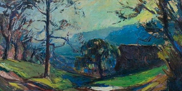 Abbe Cales - Paysage dauphinois