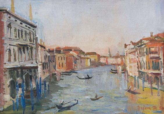 Donato Frisia - Canale veneziano