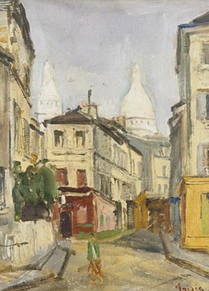 Donato Frisia - Parigi  Montmartre