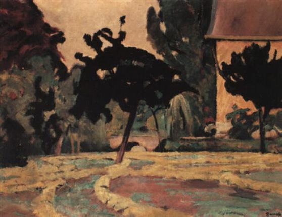 Henri Ramah - de tuin van diependaal