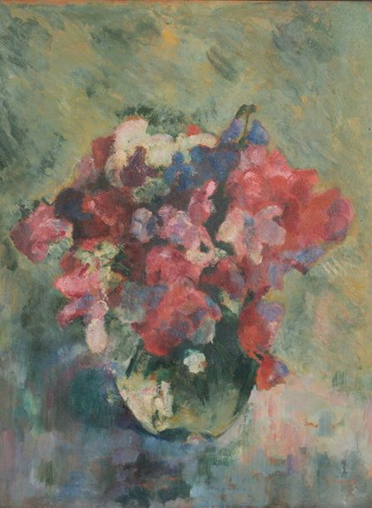 Henri Ramah -  Bouquet de fleurs