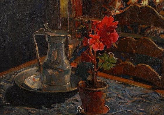 Edgard Wiethase  - Pot de fleurs