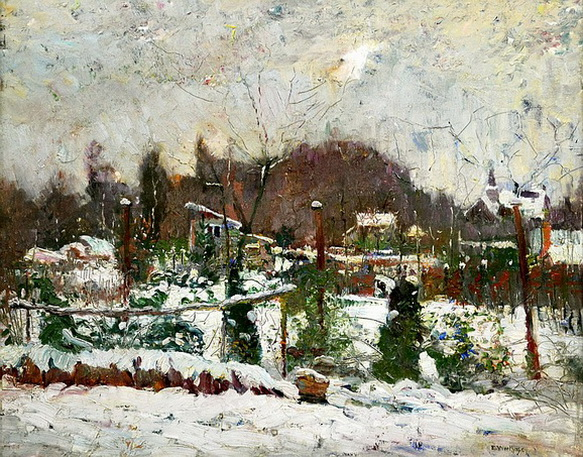 Edgard Wiethase  - Winter Landscape
