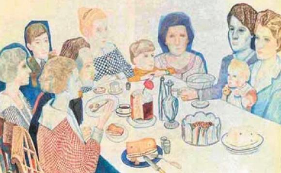 Филонов - Семейный портрет.