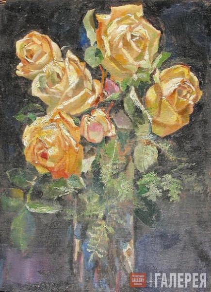 Филонов - Желтые розы