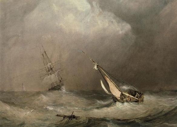 Copley Fielding - Rough weather (2)