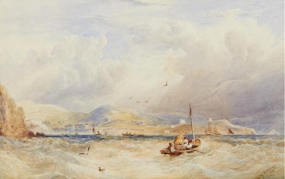 Copley Fielding - Off Teignmouth