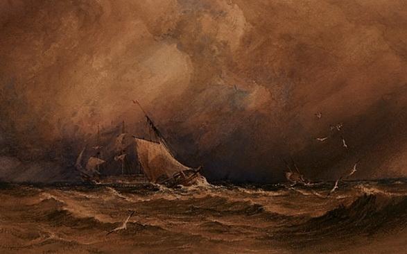 Copley Fielding - Seapiece