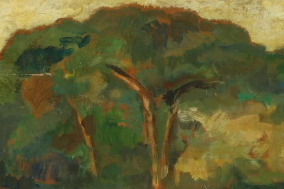 Giovanni Bartolena - paesaggio toscano