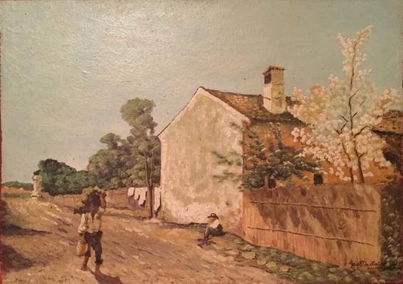 Giovanni Bartolena -  Scena rurale