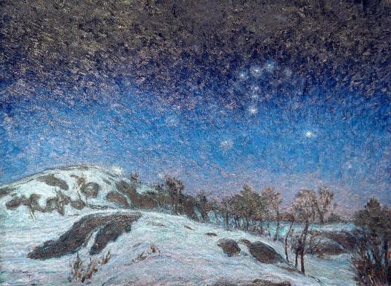 Karl  Nordstrom - Winter Night