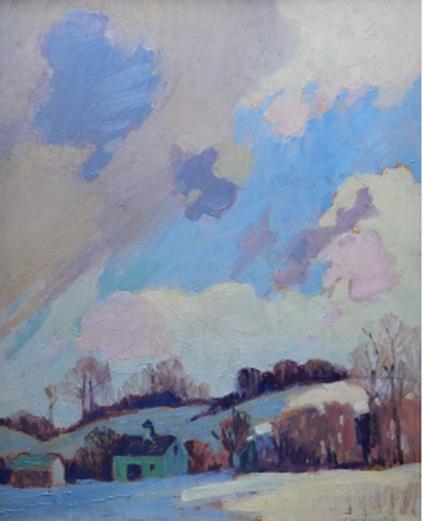 Karl  Nordstrom - Winter Light