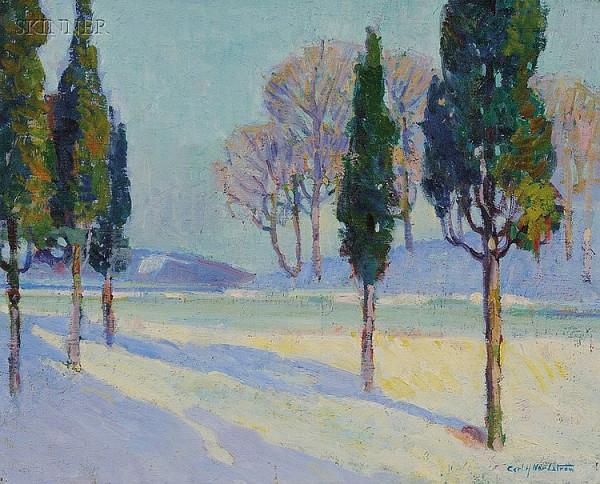 Karl  Nordstrom - Landscape-Winter