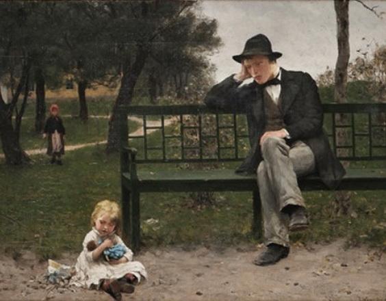 Erik Theodor Werenskiold - A Prodigal Son