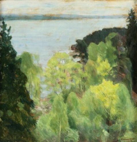 Erik Theodor Werenskiold - Fjordlandskap