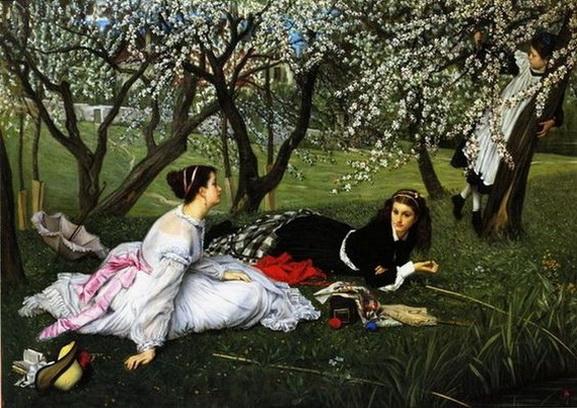 James  Tissot - huile sur toile