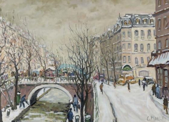Charles Malle - Paris, canal St-Martin