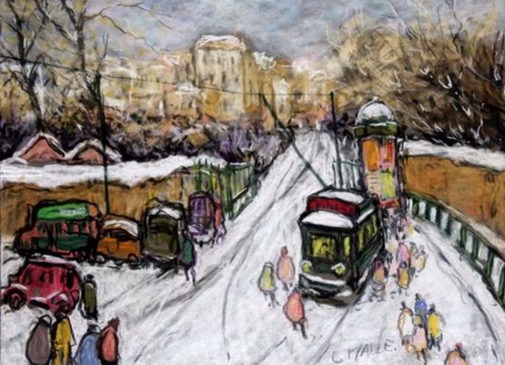 Charles Malle - Paris, porte de Chatillon