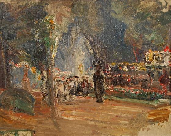 Marcel Jefferys - Fete de nuit