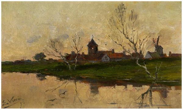 Emmanuel Vierin - Vue de village