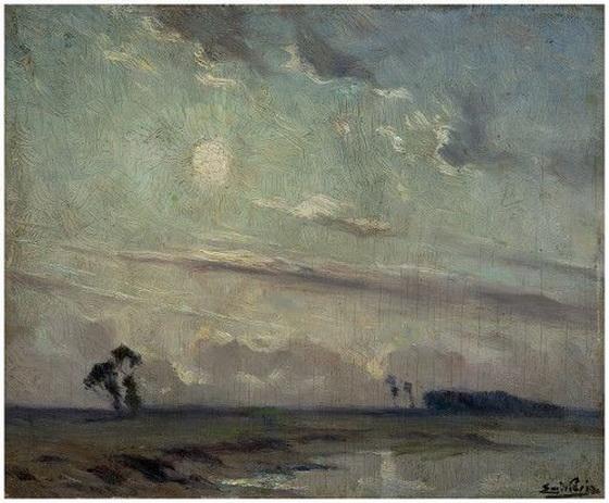 Emmanuel Vierin - Paysage de riviere