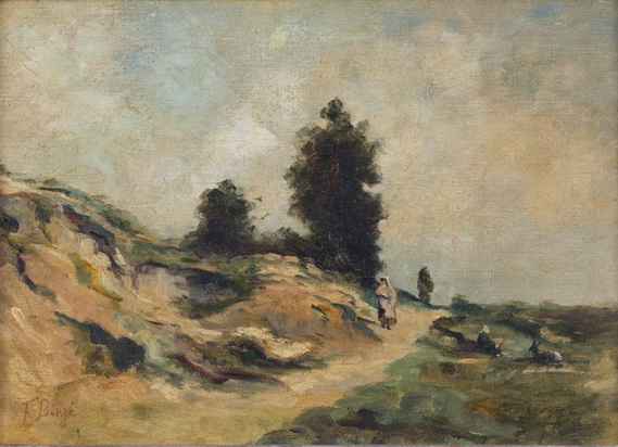 Franz Binje - Dans les champs